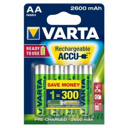 Varta Tölthető AA 2600mAh 4db