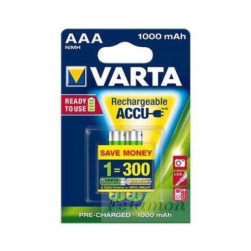 Varta Tölthető AAA 1000mAh 2db