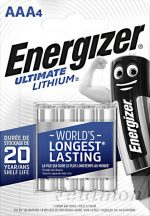 Energizer Lithium 4AAA