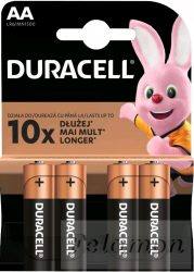 Duracell Basic 4AA