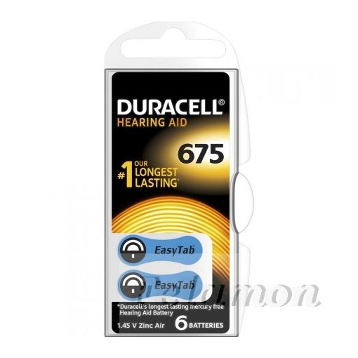 Duracell Activair 675 6db