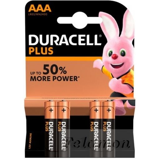 Duracell Plus Power 4AAA