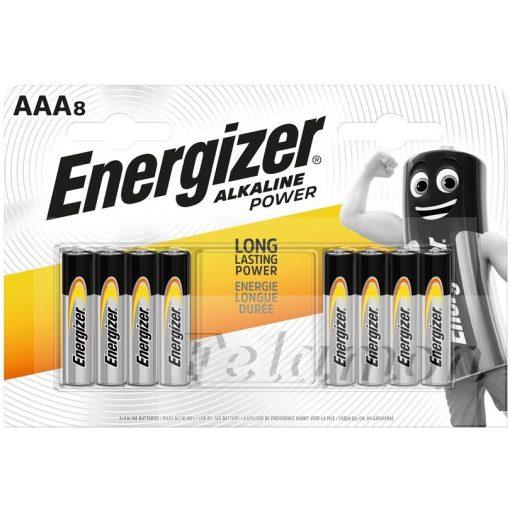 Energizer Alkaline Power AAA 8db