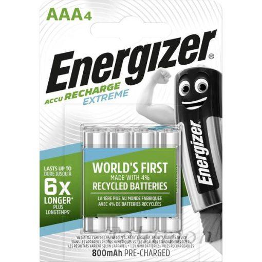 Energizer akkumulátor  4AAA  800mAh