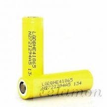 LG INR18650-HE4 Li-ion 3,7V ipari akku 2500 mAh (LGDBHE41865) high-drain 20A