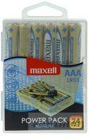 Maxell Alkaline dobos AAA 24db