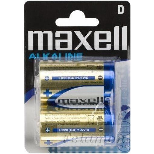 Maxell Alkaline  D