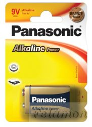 Panasonic Alkaline Power 9V