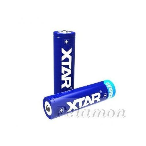 XTAR 18650 Li-ion akku védelemmel 2200mAh