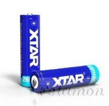 XTAR 18650 Li-ion akku védelemmel 2600mAh