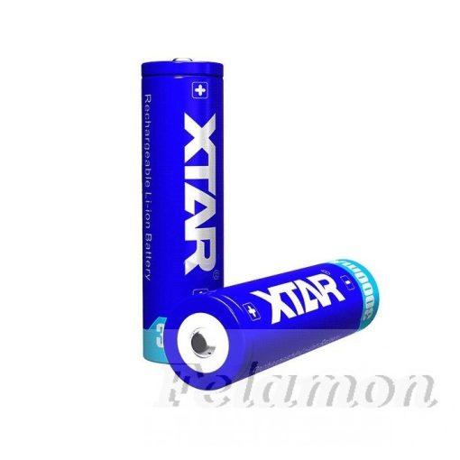 XTAR 18650 Li-ion akku védelemmel,3000mAh
