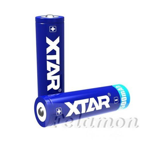 XTAR 18650 Li-ion akku védelemmel 3500mAh
